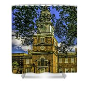 Independence Hall-philadelphia Shower Curtain