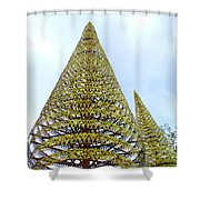Independence Park 8 Shower Curtain