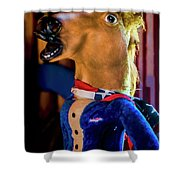 Independent Candidate 10368vt2 Shower Curtain