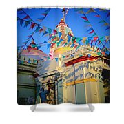 India Gate Woman Shower Curtain