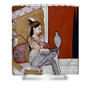 India: Lady & Hawk, C1570 Shower Curtain