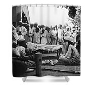 India: Malaria Play, C1929 Shower Curtain
