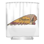 Indian #3 Shower Curtain