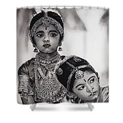 Indian Adornment Shower Curtain
