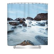 Indian Beach At Ecola State Park, Oregon  Shower Curtain
