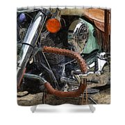 Indian Chief Vintage Ll Shower Curtain
