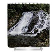 Indian Creek Falls 1 Shower Curtain