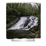Indian Creek Falls 2 Shower Curtain