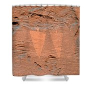 Indian Creek Watchers Shower Curtain