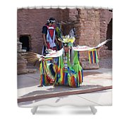 Indian Dancer Shower Curtain