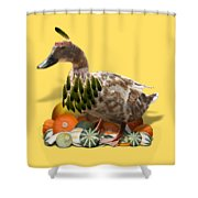 Indian Duck Shower Curtain