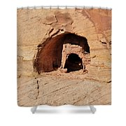 Indian Dwelling Canyon De Chelly Shower Curtain