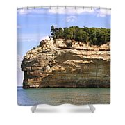 Indian Head Rock Shower Curtain