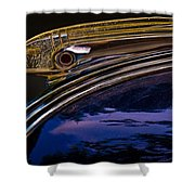 Indian Hood Ornament Shower Curtain