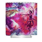 Indian Kathak Dance 87y Shower Curtain