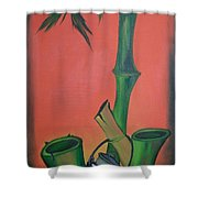 Indian Lamp  Shower Curtain