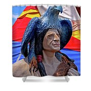 Indian Leader 001 Shower Curtain