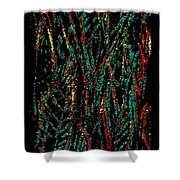 Indian Leaves Shower Curtain