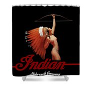 Indian Motorcycle Company Shower Curtain