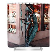Indian On The Square Sante Fe Nm Shower Curtain