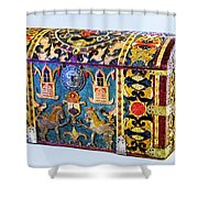 Indian Portuguese Chest Shower Curtain