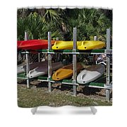 Indian River In Florida Shower Curtain