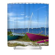 Indian River Lagoon On The Easr Coast Of Florida Shower Curtain
