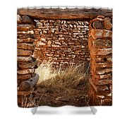 Indian Ruins Doorway Shower Curtain