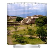 Indian Ruins Shower Curtain