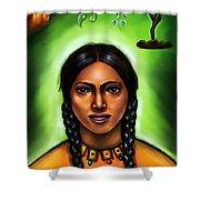 Indian Spirit Shower Curtain