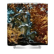 Indian Summer Along The Wissahickon Shower Curtain