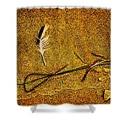 Indian Summer Zen Shower Curtain