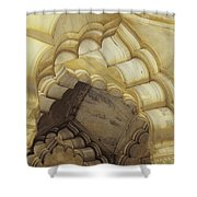 Indian Temple Arches Shower Curtain