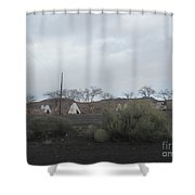 Indian Tents Shower Curtain