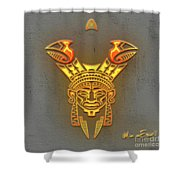 Indian Totem Shower Curtain