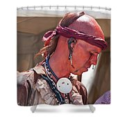 Indian Viii  6740 Shower Curtain