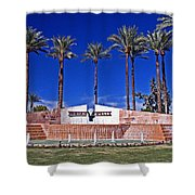 Indian Wells Shower Curtain
