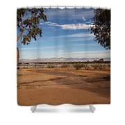 Indian Wells Valley Shower Curtain