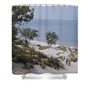 Indiana Dunes State Park Provides Shower Curtain