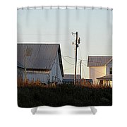 Indiana Farmhouse  Shower Curtain