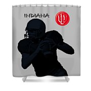 Indiana Football Shower Curtain