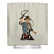 Indiana Jones - Harrison Ford Shower Curtain