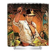 Indiana Jones Raiders Of The Lost Ark 1981 Shower Curtain