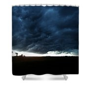 Indiana Storm Front Shower Curtain
