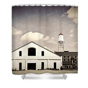 Indiana Warehouse Shower Curtain by Amber Flowers