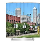 Indianapolis From The Park Shower Curtain