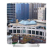 Indianapolis, Indiana Shower Curtain