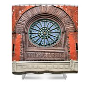 Indianapolis Union Station Building Shower Curtain