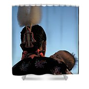 Indigenous Mother Shower Curtain