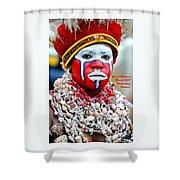 Indigenous Woman L A Shower Curtain